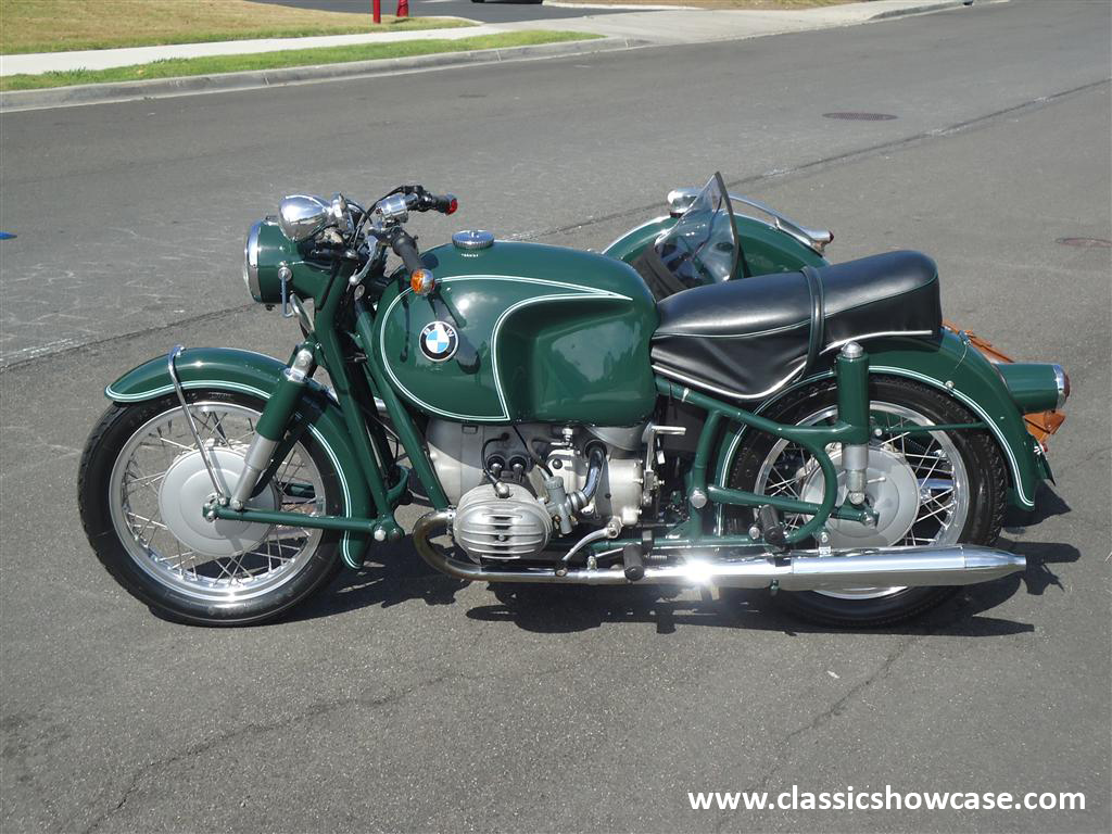 1968 bmw r60 2 with a steib s350 sport chair by classic. Black Bedroom Furniture Sets. Home Design Ideas