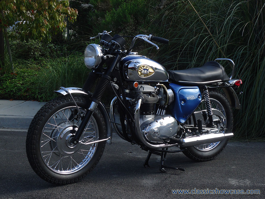 1970 650 Lightning BSA
