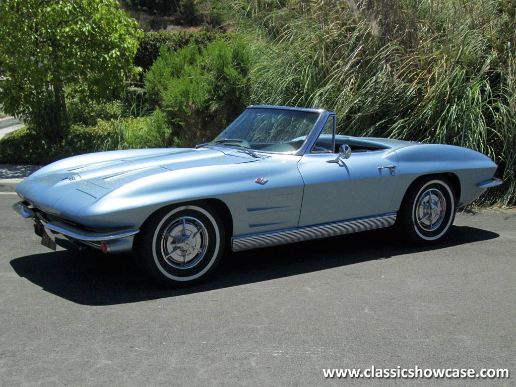 1963 chevrolet corvette stingray roadster by classic showcase. Cars Review. Best American Auto & Cars Review