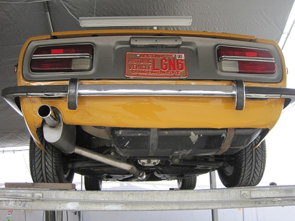 Da on Datsun Z Ford V8 Conversion Kit