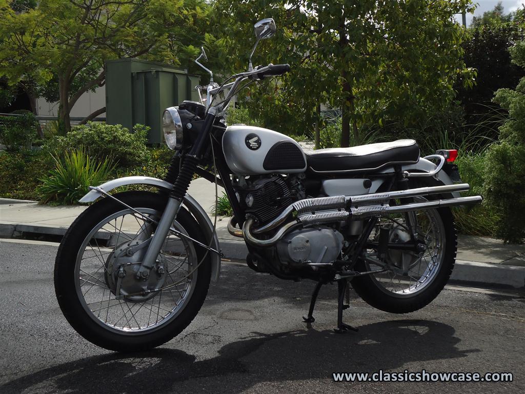 1966 Honda Cl 77 Scrambler By Classic Showcase