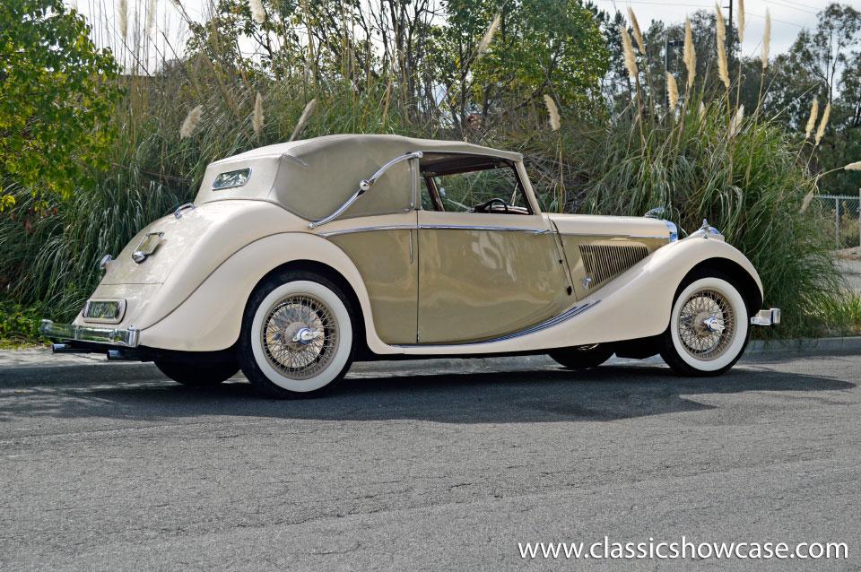 1948 Jaguar Mark Iv 3 5 Dhc Rhd By Classic Showcase