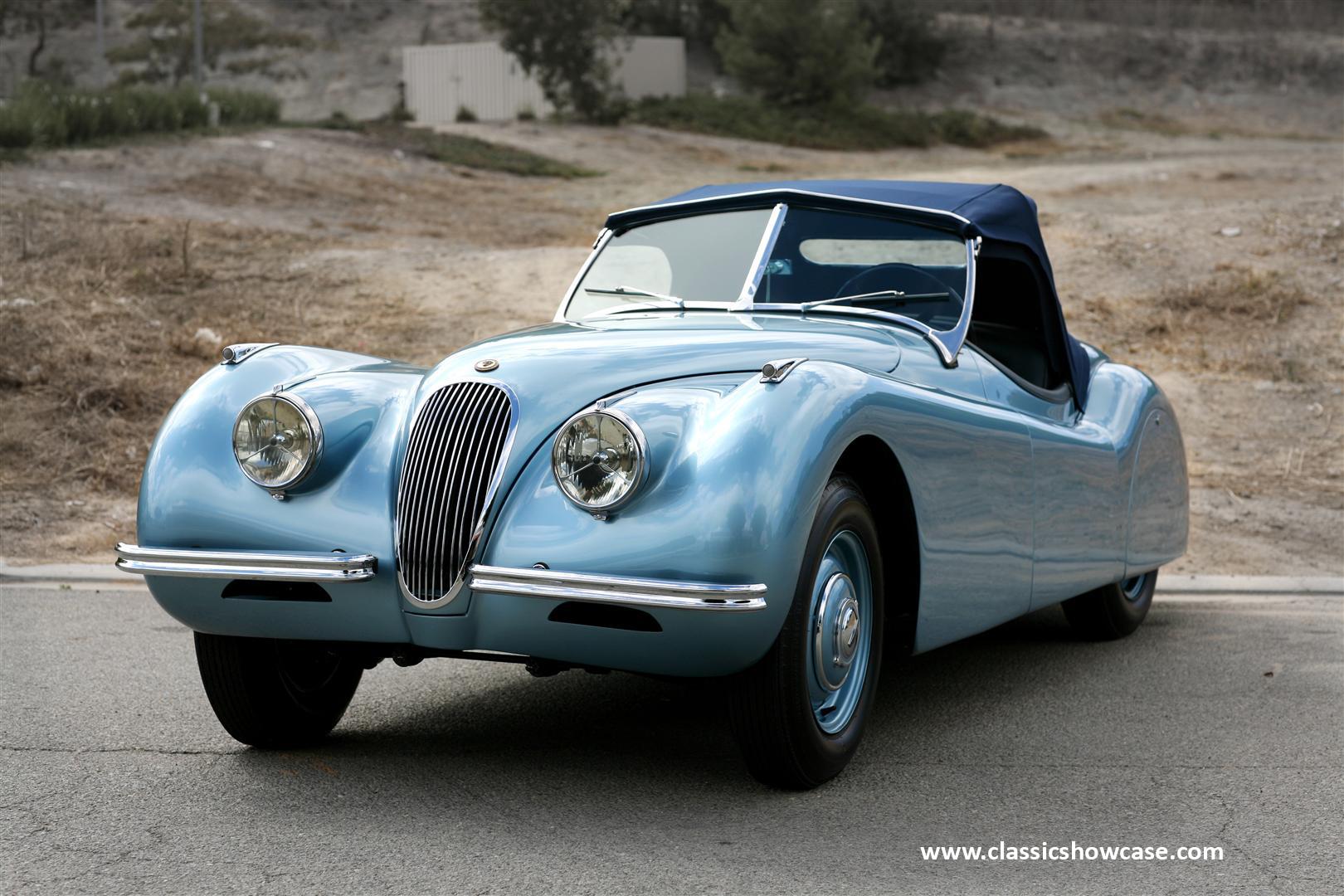 1950 jaguar xk 120 ots by classic showcase. Black Bedroom Furniture Sets. Home Design Ideas