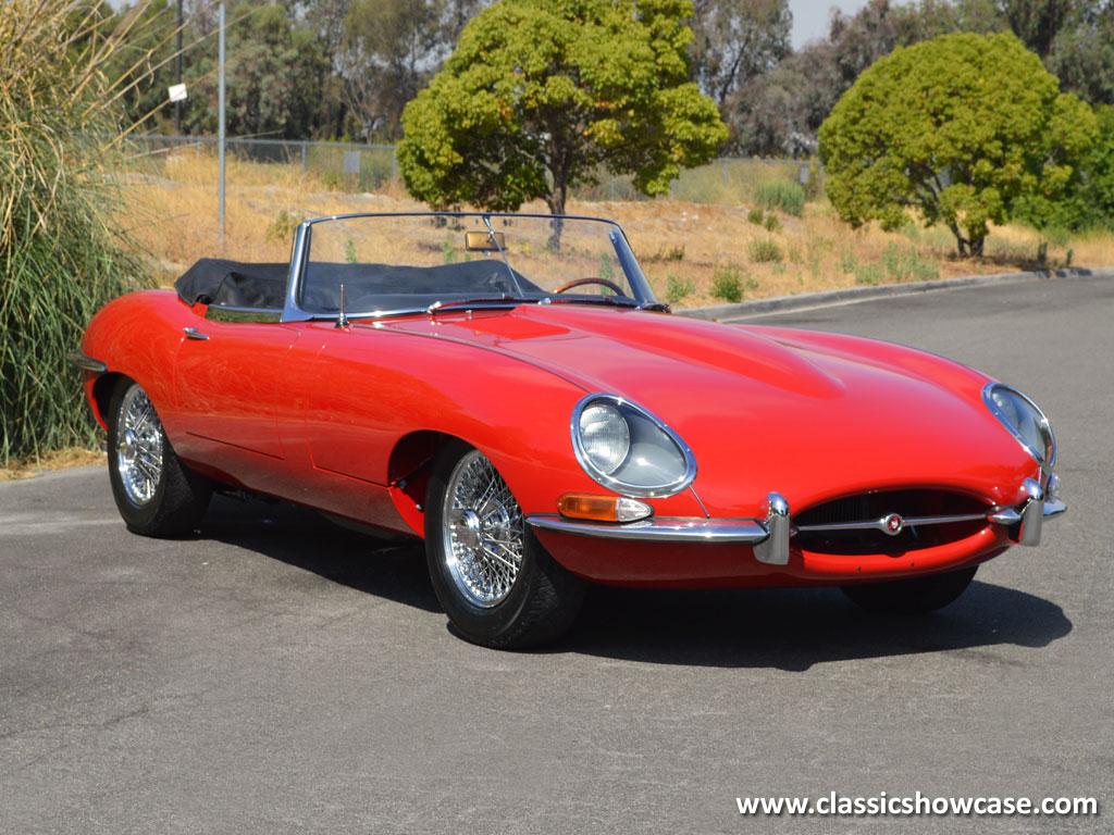 Jaguar E Type >> 1962 Jaguar XKE Series 1 3.8 Roadster by Classic Showcase