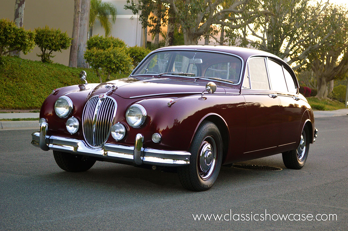 1962 jaguar mk ii 3 4 sedan by classic showcase. Black Bedroom Furniture Sets. Home Design Ideas