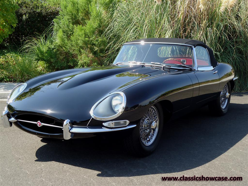 1963 jaguar xke series i 3 8 ots by classic showcase. Black Bedroom Furniture Sets. Home Design Ideas