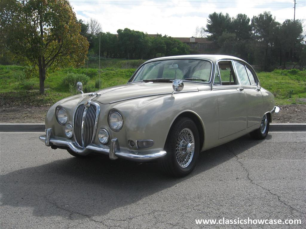 1964 jaguar 3 8 s type sedan by classic showcase. Black Bedroom Furniture Sets. Home Design Ideas