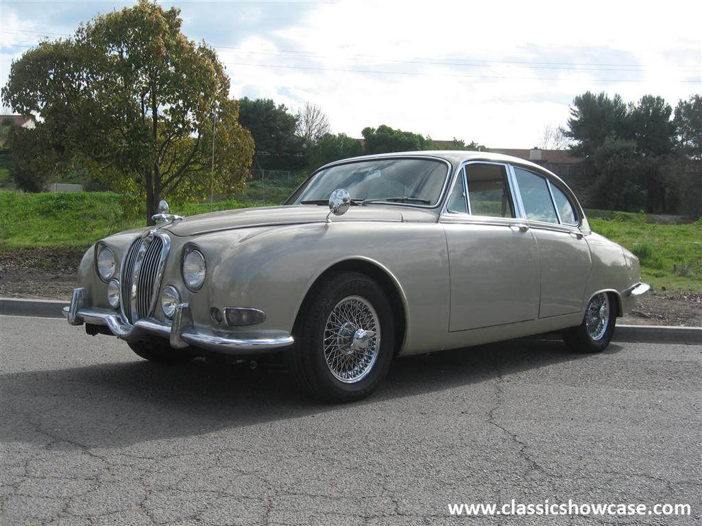 1964 jaguar 3.8 s type sedanclassic showcase