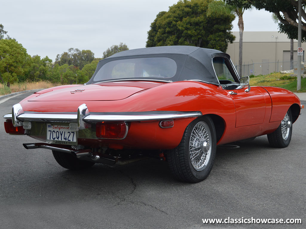 J69 547 on 1969 jaguar xke