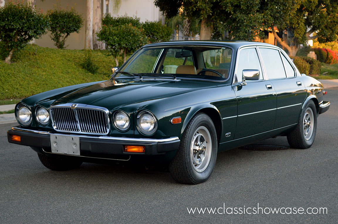 1986 jaguar xj6 series iii 4 2 sedan by classic showcase. Black Bedroom Furniture Sets. Home Design Ideas