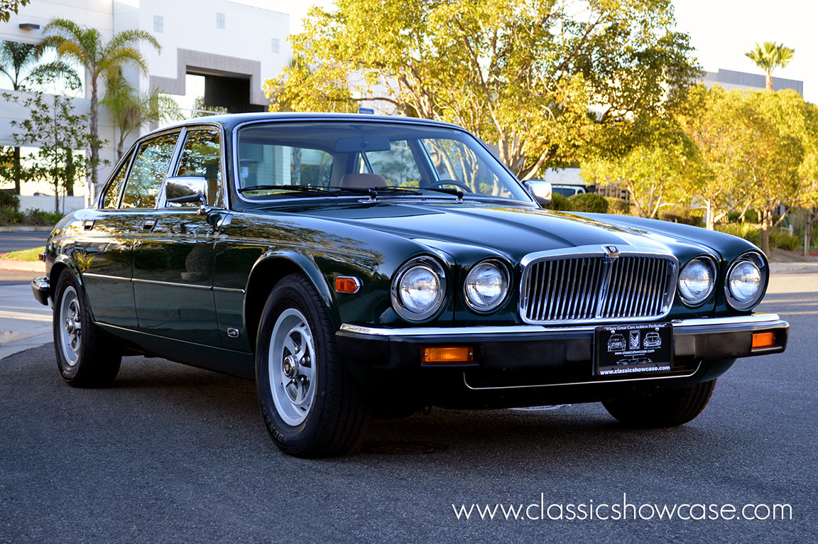 4 Series Sedan >> 1986 Jaguar XJ6 Series III 4.2 Sedan by Classic Showcase