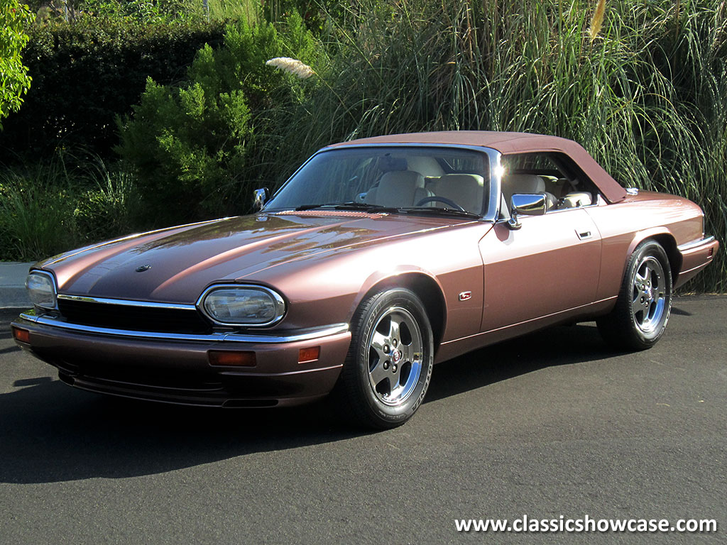 1995 jaguar xjs 2 2 convertible by classic showcase. Black Bedroom Furniture Sets. Home Design Ideas