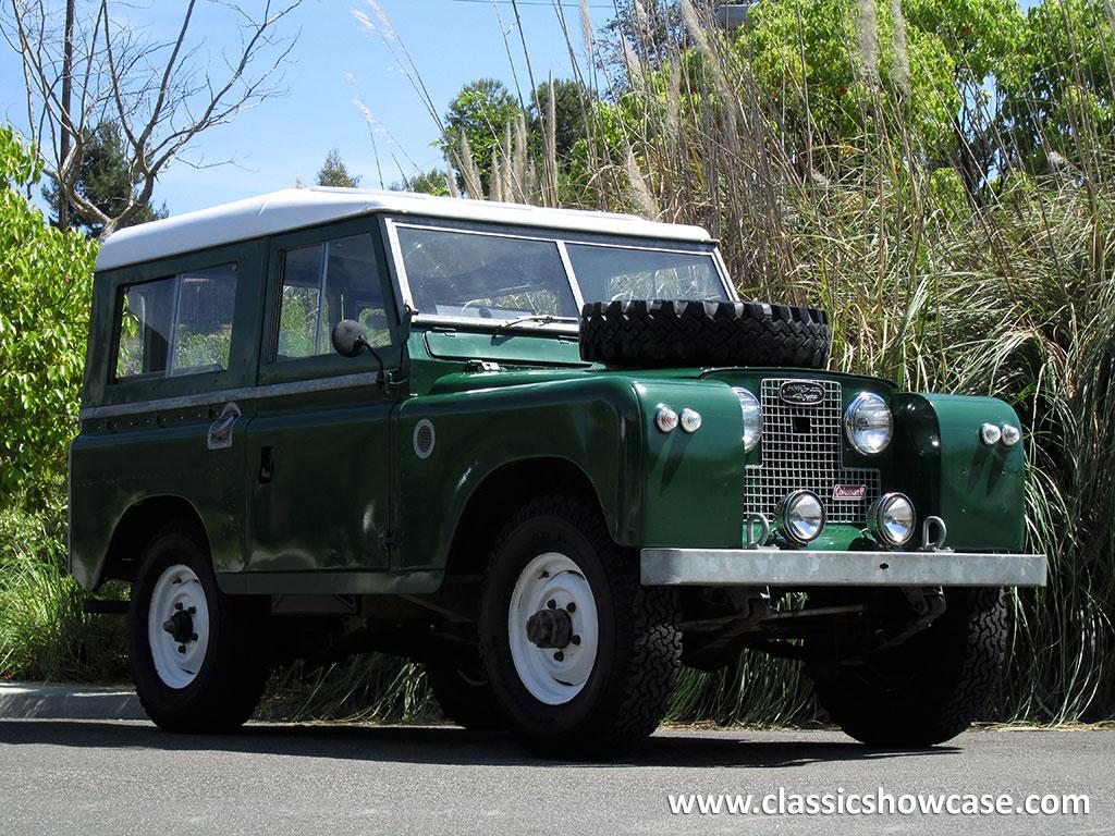 1969 Land Rover IIA Hardtop 2.25 by Classic Showcase