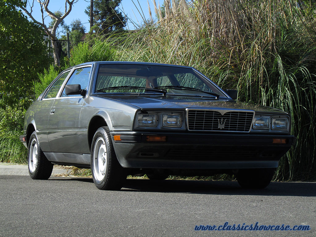 1985 Maserati Biturbo by Classic Showcase