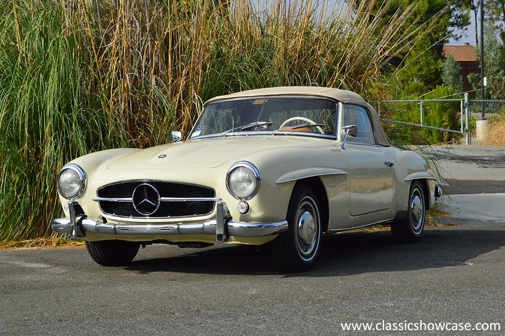 1956 mercedes benz 190sl roadster by classic showcase for 1956 mercedes benz 190sl