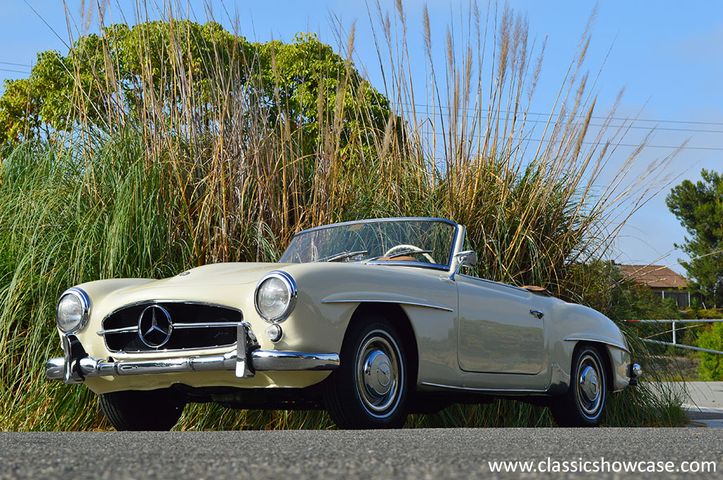 1956 mercedes benz 190sl roadster by classic showcase for 1956 mercedes benz