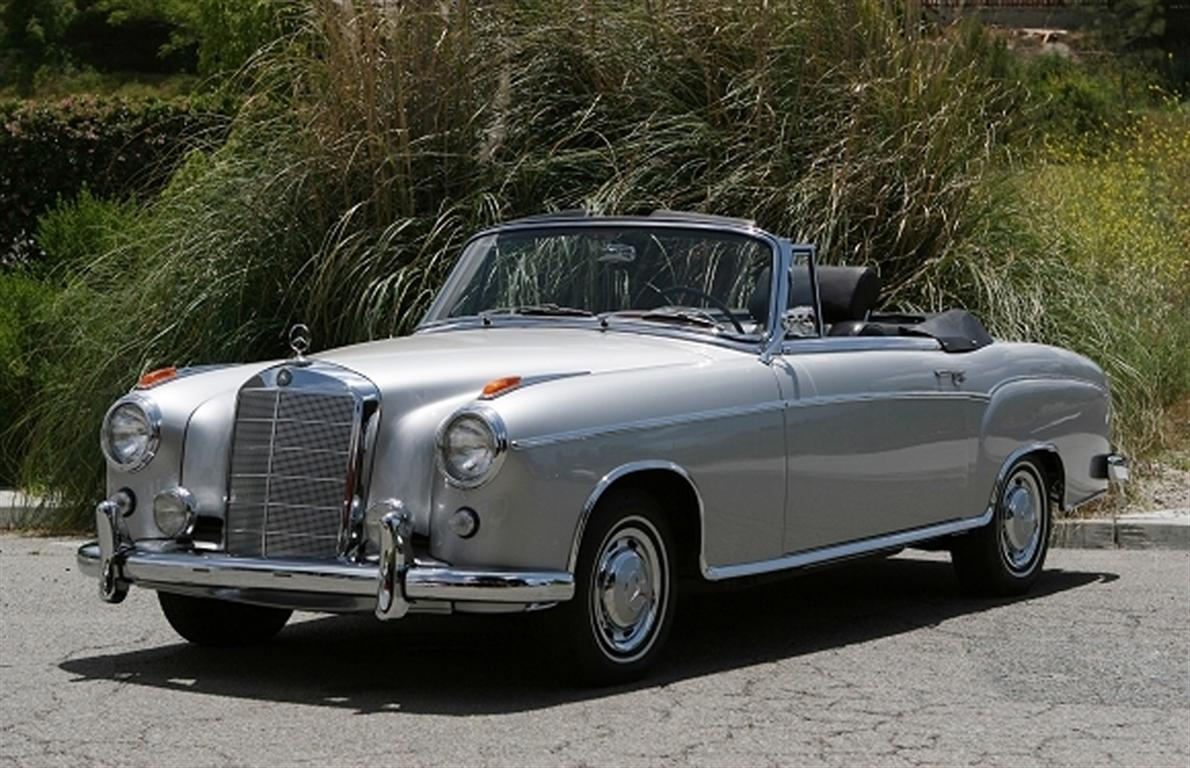 1960 mercedes benz 220 se convertible by classic showcase for 1960 mercedes benz