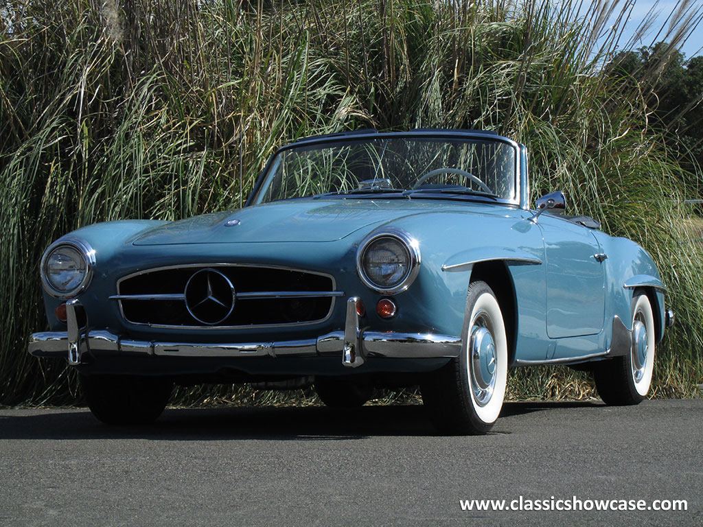 1960 Mercedes Benz 190sl Roadster By Classic Showcase