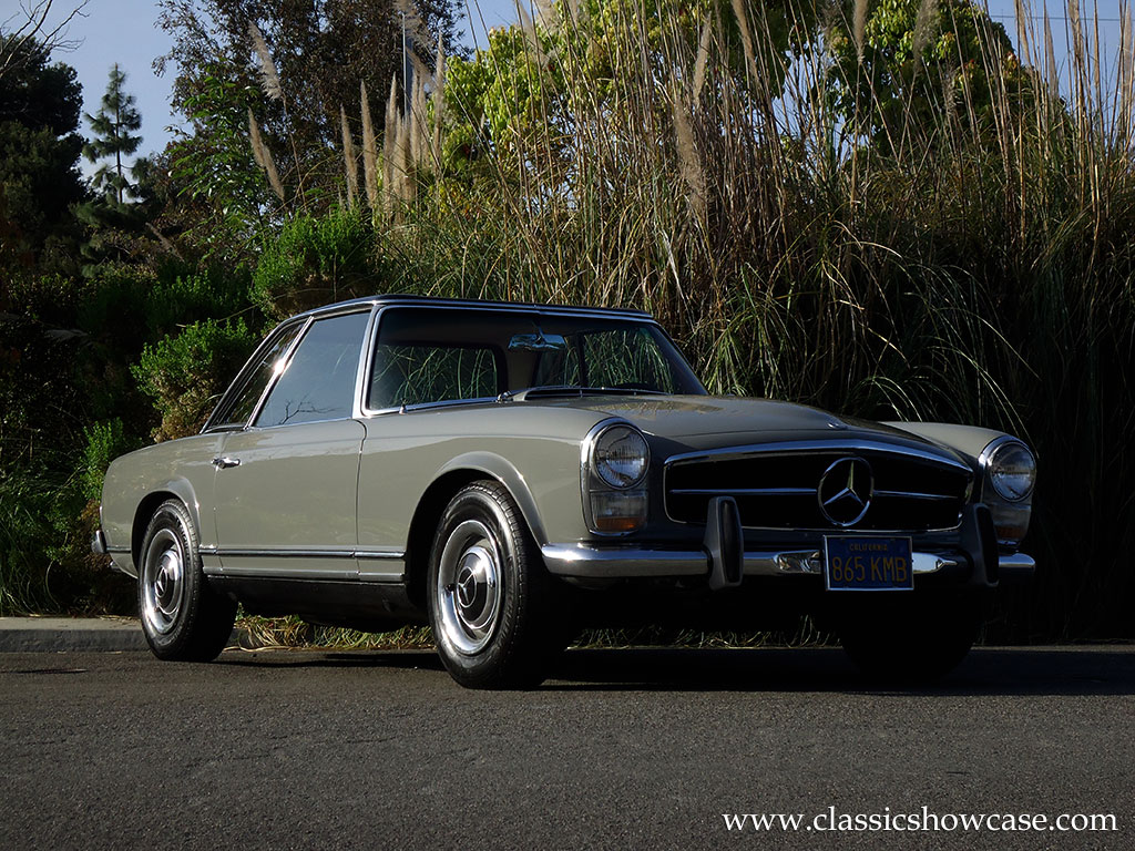 1967 Mercedes Benz 250sl Roadster By Classic Showcase