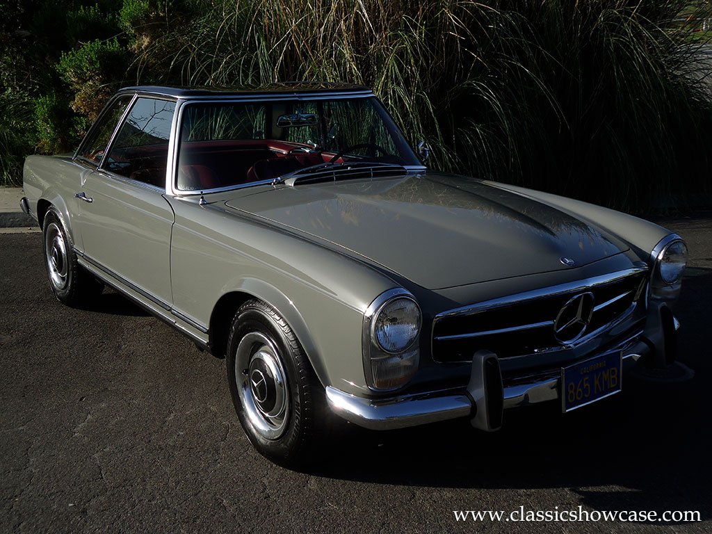 1967 mercedes benz 250sl roadster by classic showcase for Mercedes benz 250sl
