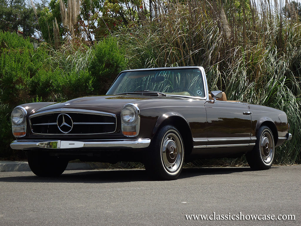 1960 mercedes benz 280sl roadster by classic showcase for 1960 mercedes benz