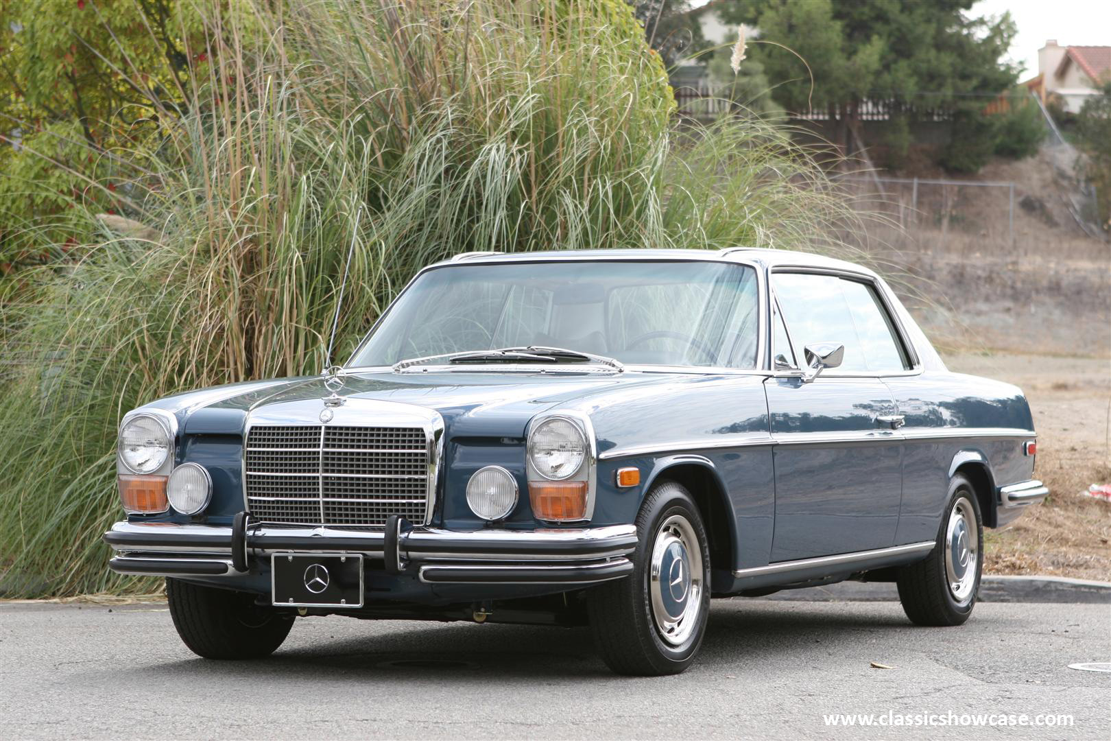 1972 mercedes benz 250c coupe by classic showcase