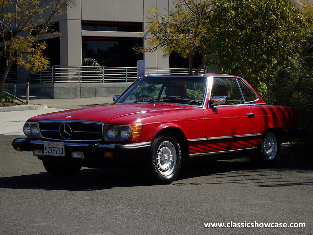 1982 mercedes benz 380 sl pagoda roadster by classic showcase for Mercedes benz 380 sl