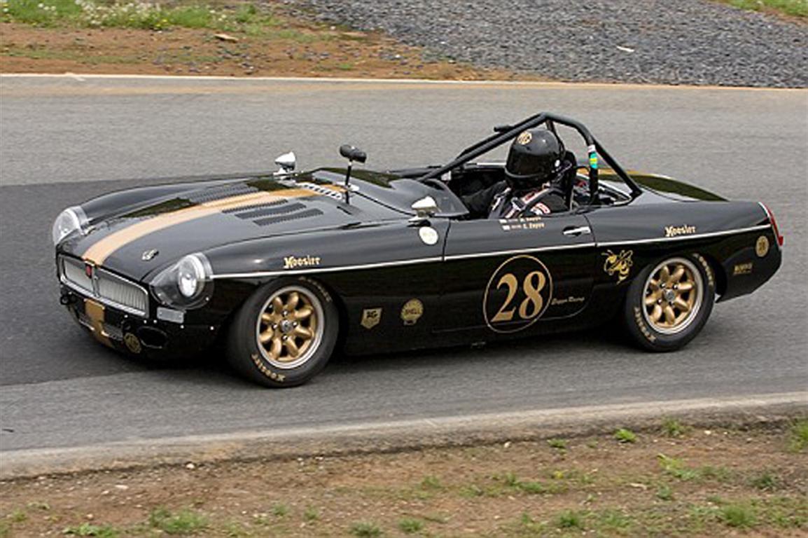 1962 MG B Race Car by Classic Showcase
