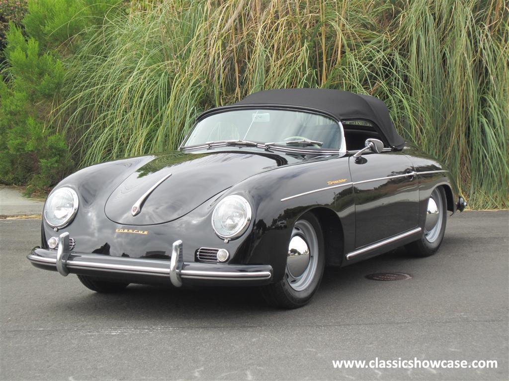 1955 Porsche 356 Pre A Speedster By Classic Showcase