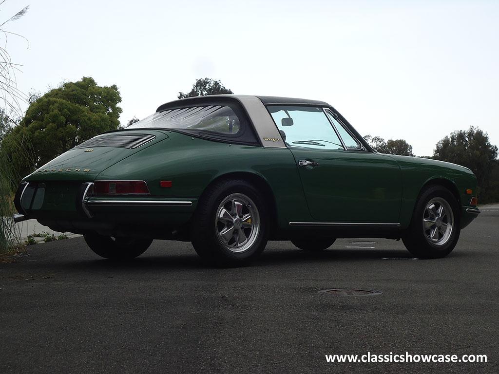 1968 Porsche 911 Soft Window Targa By Classic Showcase