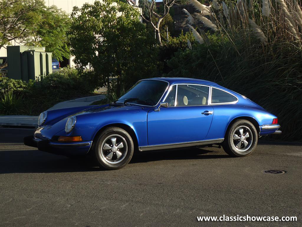1973 Porsche 911t Coupe By Classic Showcase