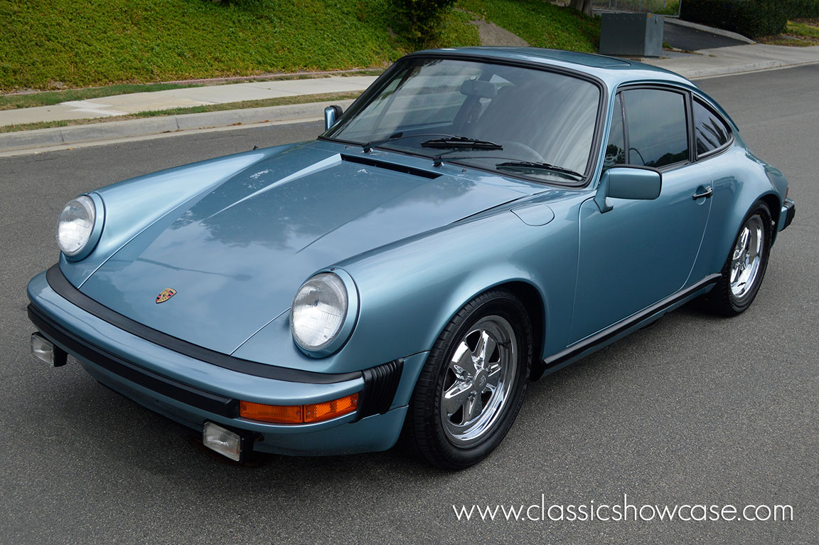 1980 porsche 911 sc coupe by classic showcase. Black Bedroom Furniture Sets. Home Design Ideas