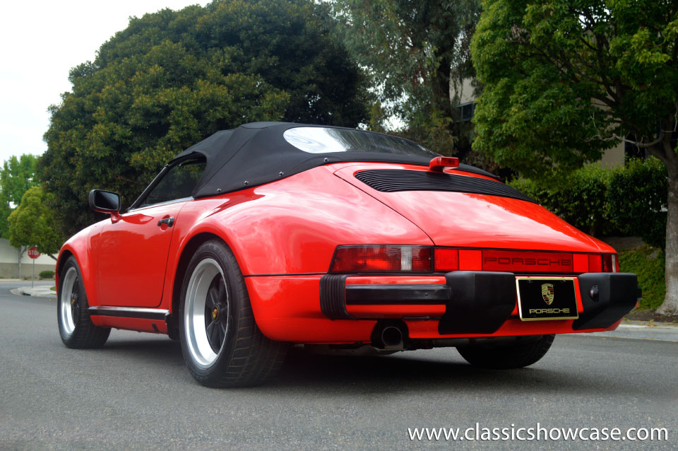 1989 Porsche 911 Carrera Speedster By Classic Showcase