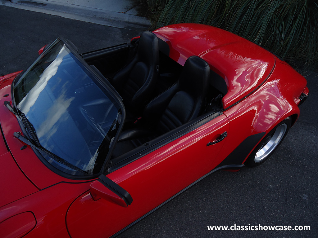 1989 Porsche 911 3 2 Speedster By Classic Showcase