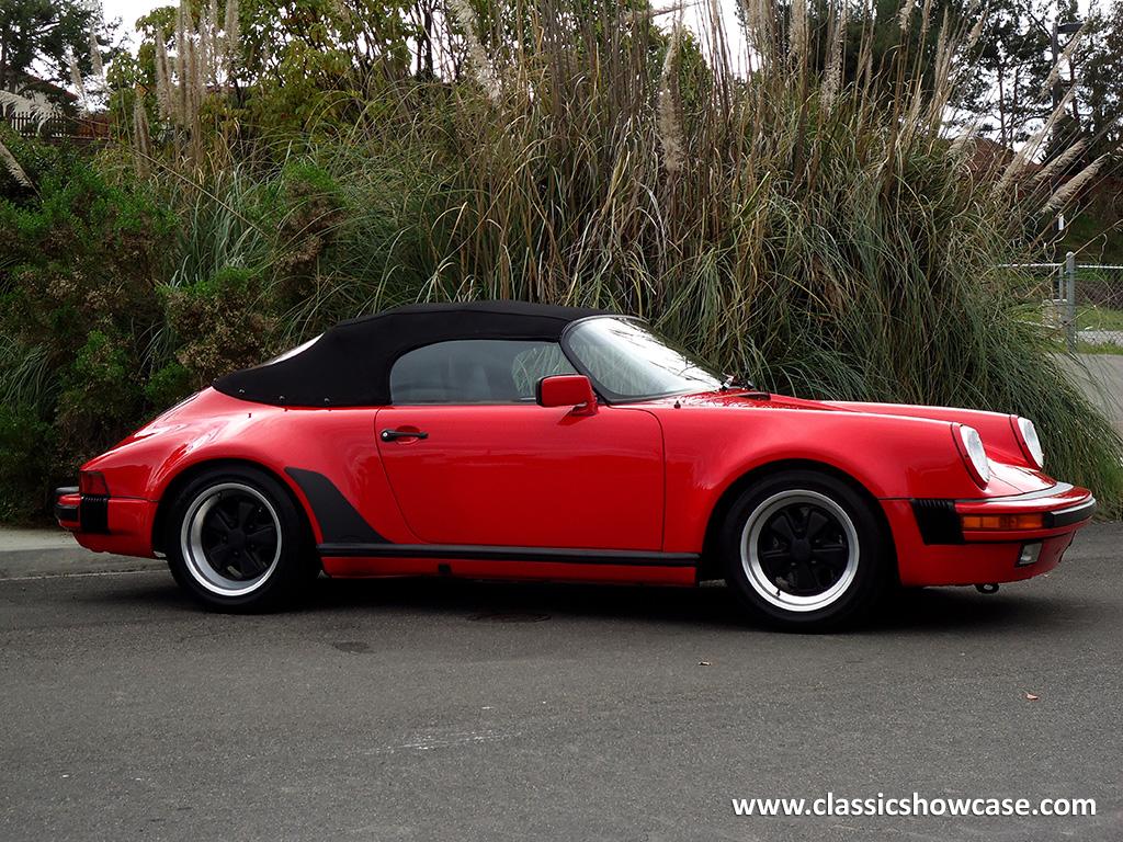 1989 Porsche 911 3 2 Speedster By Classic Showcase