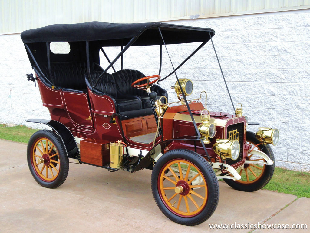 Mercedes St Louis >> 1905 REO Two-Cylinder Five-Passenger Detachable Tonneau by Classic Showcase