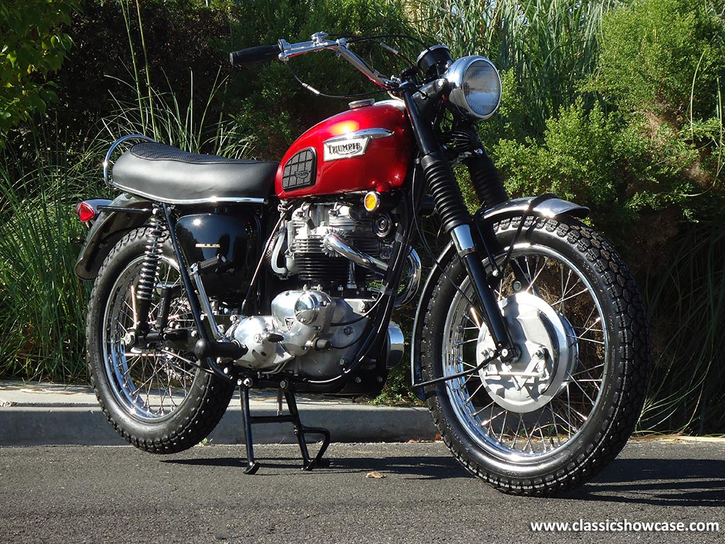 1969 Triumph Motorcycles TR6C 650 Trophy by Clic Showcase