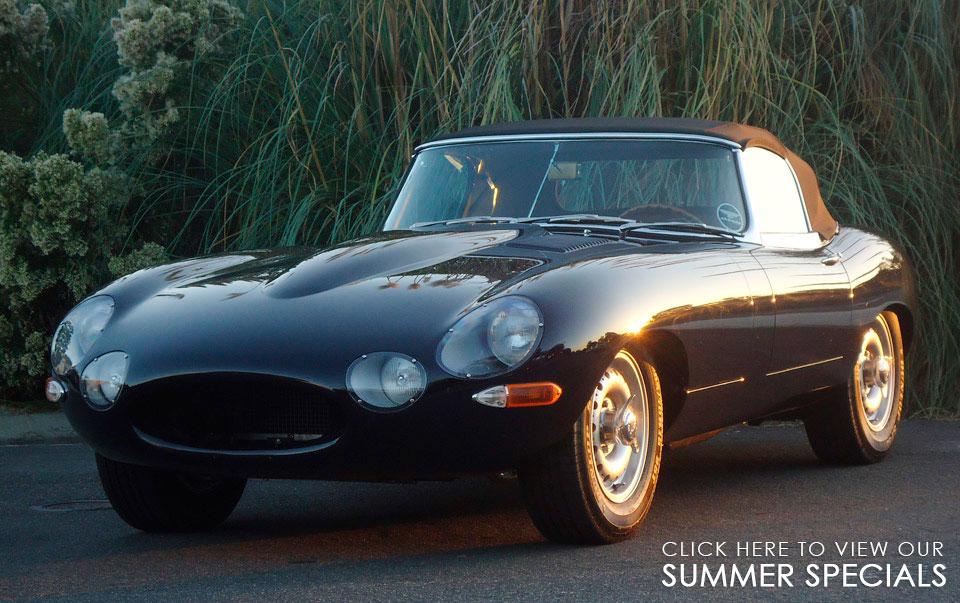 Jaguar XKE, E-Type, Jaguar Restoration Specialists | Classic